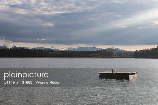 Lake Chiemsee - p1149m1131663 by Yvonne Röder