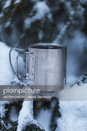 Heißgetränk im Winter - p972m1160330 von Henrik Bonnevier