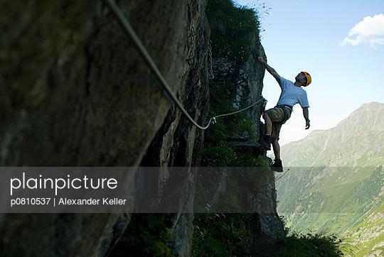 Waghalsiges Klettern - p0810537 von Alexander Keller