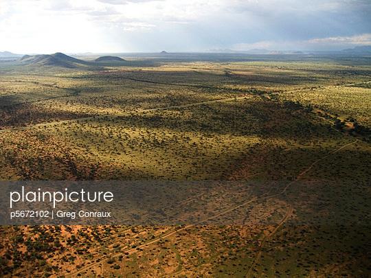 Landschaft in Namibia - p5672102 von Greg Conraux
