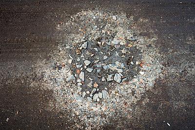 schönes Schlagloch - p1079m1184937 von Ulrich Mertens