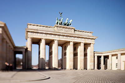 Brandenburg Gate - p809m945975 by Angela Elbing