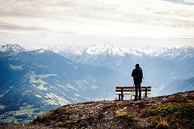 Wanderer im Zillertal - p1222m2126482 von Jérome Gerull