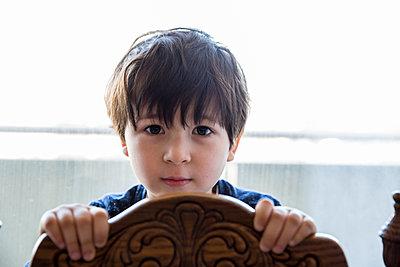 Little Boy - p535m1124483 by Michelle Gibson