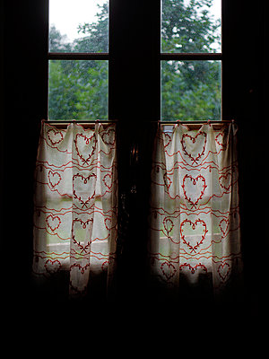 Old curtains - p1028m2289442 by Jean Marmeisse