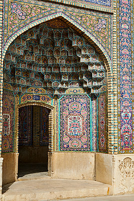 Moschee Shiraz, Nasir ol Molk Moschee - p1146m1445125 von Stephanie Uhlenbrock
