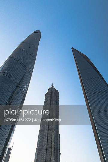 Wolkenkratzer in Shanghai - p795m1161272 von Janklein