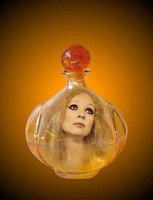 Perfume bottle - p3227219 by Karoliina Norontaus