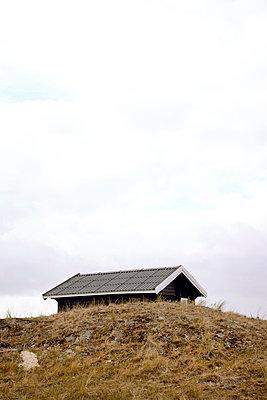 Sommerhaus auf der Düne - p382m2053123 von Anna Matzen