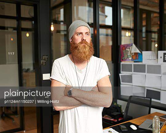 Designer am Arbeitsplatz - p1124m1150237 von Willing-Holtz
