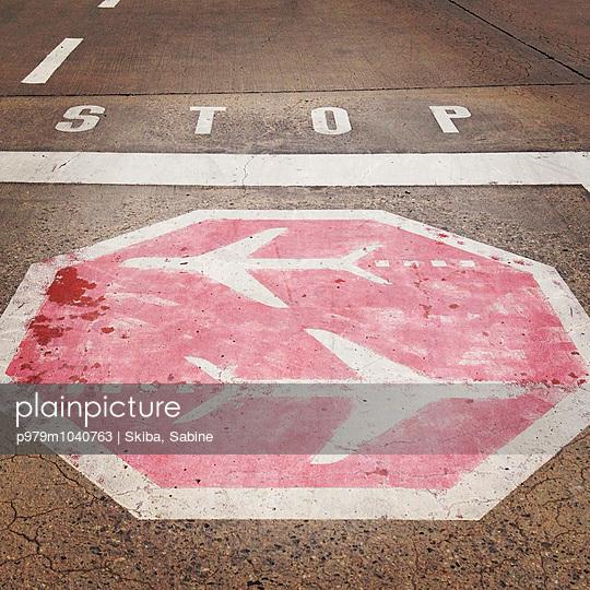 Stop sign - p979m1040763 by Skiba, Sabine