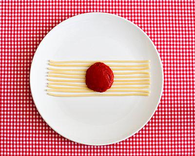 Spaghetti-Gesicht, Apathisch - p1078m900509 von Frauke Thielking