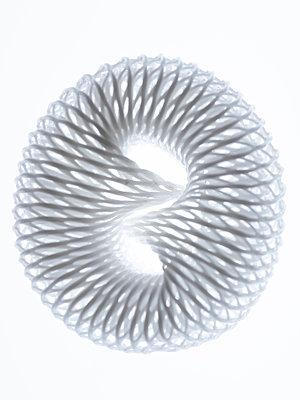 White plastic net - p401m2172637 by Frank Baquet