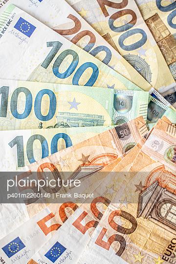 Euro Banknoten - p401m2260146 von Frank Baquet