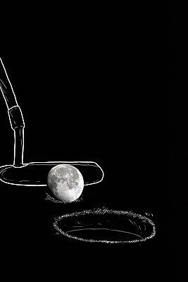 Imaginary golf - p1165m1216892 by Pierro Luca