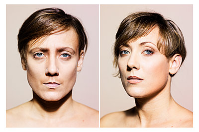 Porträtfotos Transgender - p1462m1516825 von Massimo Giovannini