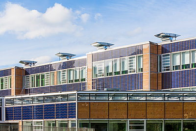 Germany, Geislingen an der Steige, energy efficient reconstruction of a school building - p300m1469993 by Werner Dieterich