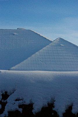 Mit Schnee überzogen - p5390026 von ebba