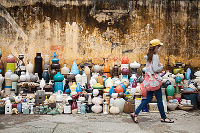 Vases, Hanoi, Vietnam - p993m989958 by Sara Foerster