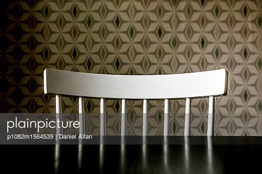White Chair - p1082m1564539 by Daniel Allan