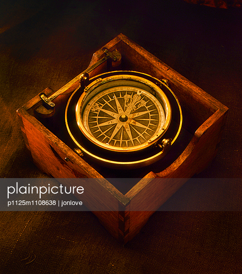 Ship compass - p1125m1108638 by jonlove