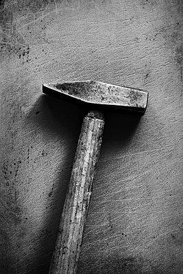 Alter Hammer  - p450m1051074 von Hanka Steidle