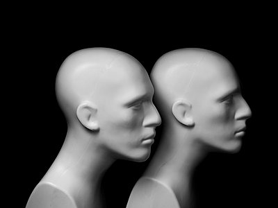Still life heads - p1052m791741 by Wolfgang Ludwig