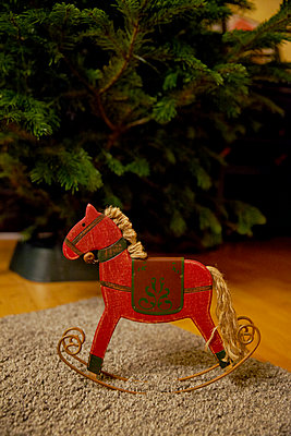 Rocking horse - p1146m1109459 by Stephanie Uhlenbrock