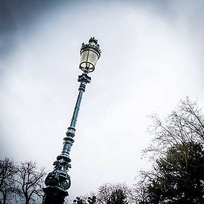 Past street lamp. - p813m1122827 by B.Jaubert
