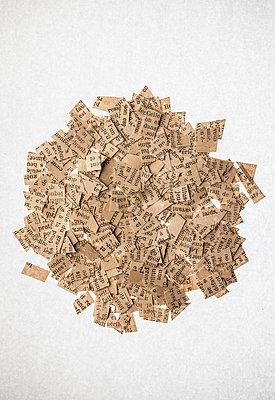 Scrap of paper - p971m2055313 by Reilika Landen