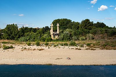 At the river beach - p1291m2004872 by Marcus Bastel