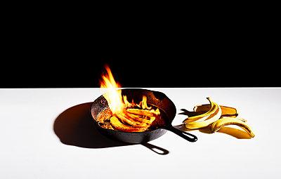Flambierte Bananen - p1397m2076490 von David Prince