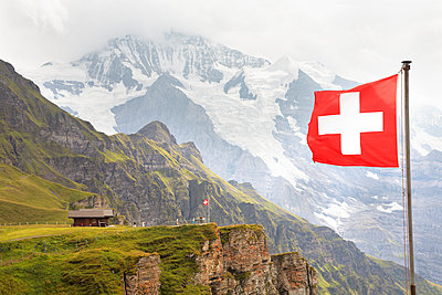 Swiss National flag  - p579m2014869 by Yabo