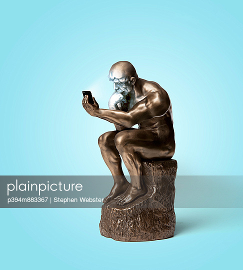 Thinker - p394m883367 by Stephen Webster