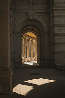 Colonnade in Marseille - p1290m1169433 by Fabien Courtitarat