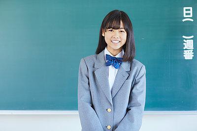 Mixed-race student - p307m2003874 by Yosuke Tanaka