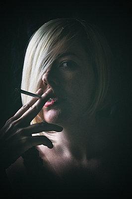 Smoking - p577m1159809 by Mihaela Ninic