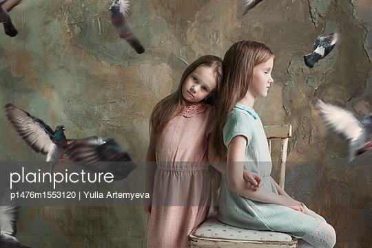 Two girls - p1476m1553120 by Yulia Artemyeva