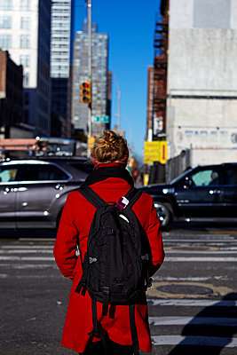 Backpack New York City - p1260m1074065 by Ted Catanzaro