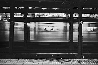 Subway Ghosts - p1290m1111007 by Fabien Courtitarat