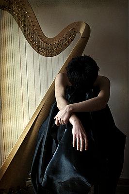 Harp - p1445m1573465 by Eugenia Kyriakopoulou