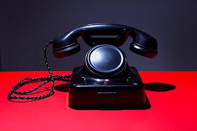 Nostalgic telephone - p1149m2014975 by Yvonne Röder