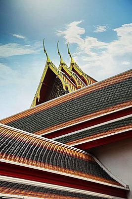 Über königlichen Dächern, Tempel des Smaragd-Buddha - p375m1021399 von whatapicture