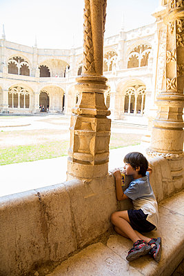 Jeronimos Monastery - p535m2020519 by Michelle Gibson