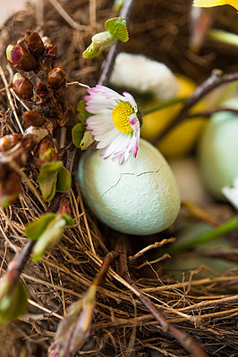 Easter basket - p936m939701 by Mike Hofstetter