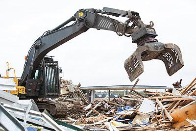 Demolition works - p1057m1045136 by Stephen Shepherd
