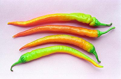 Vier Peperoni - p1650009 von Andrea Schoenrock