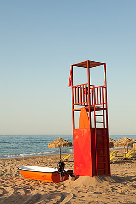 Lifeguard tower - p454m2045190 by Lubitz + Dorner