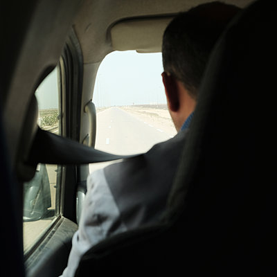 Taxi driver - p1105m1563478 by Virginie Plauchut