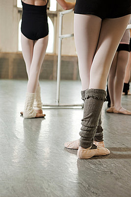 Legs of ballerinas - p9245536f by Image Source